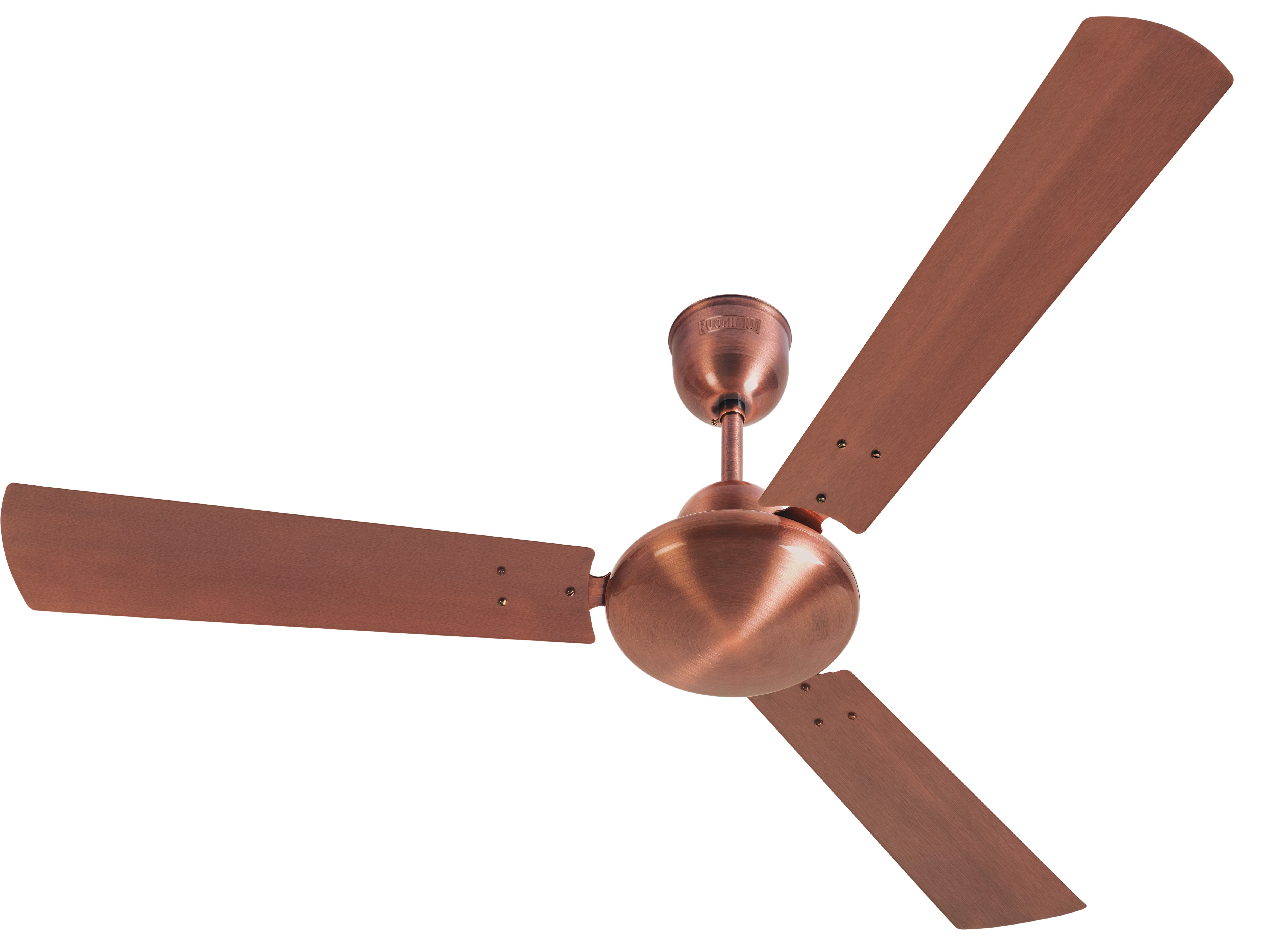 Outdoor Ceiling Fans With Copper Lights Inside 2019 Ceiling Fans : Khaitan Under Light Ceiling Fan Imperial Copper Large (View 10 of 20)