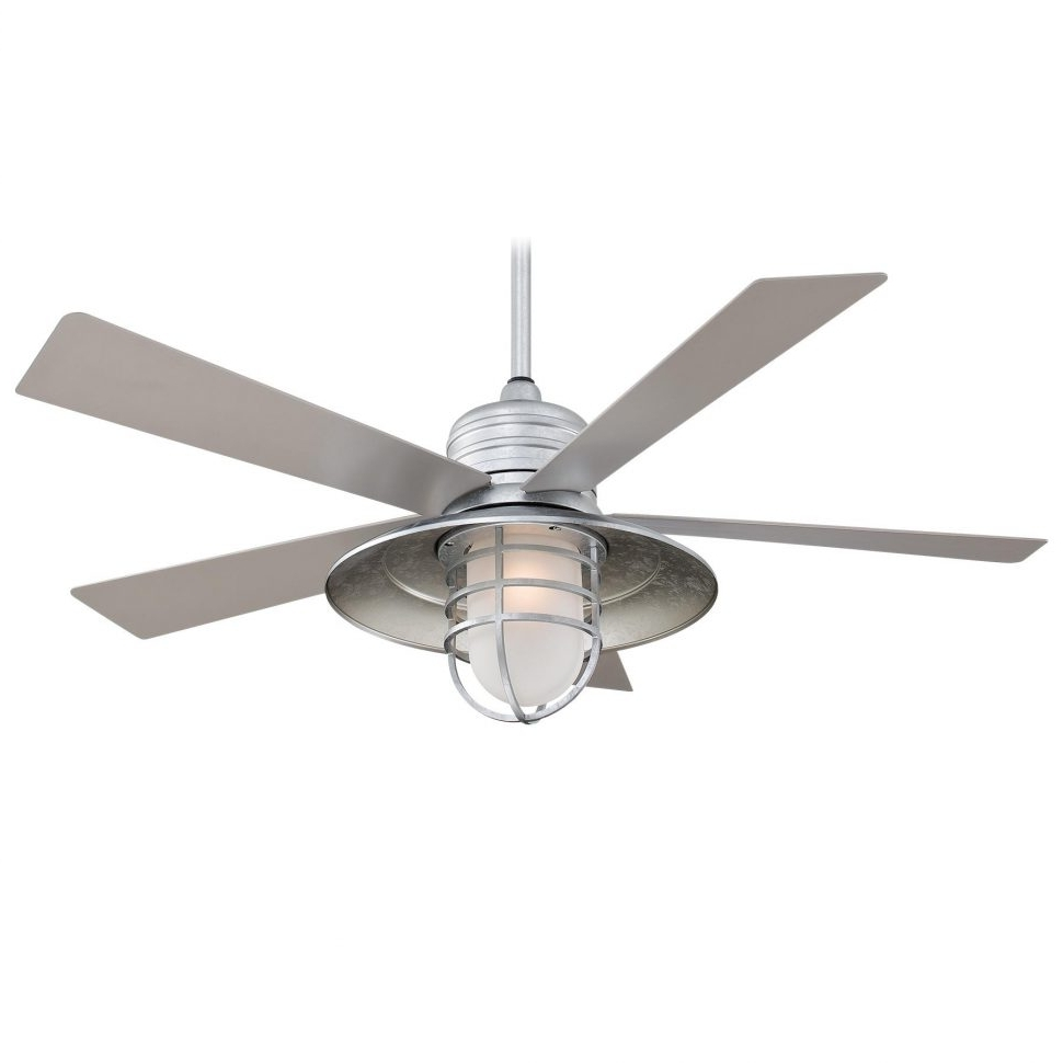 Outdoor Ceiling Fans With Flush Mount Lights In Popular Ceiling Fans : Outdoor Ceiling Fans Wet Rated White Fan Home Ideas (View 16 of 20)