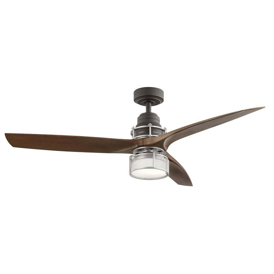 Outdoor Ceiling Fans With Light At Lowes Inside Newest Shop Ceiling Fans At Lowes (View 12 of 20)