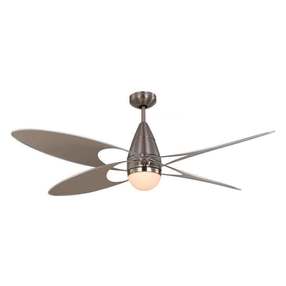 Outdoor Ceiling Fans With Lights At Home Depot Regarding Well Known Monte Carlo Butterfly 54 In (View 14 of 20)