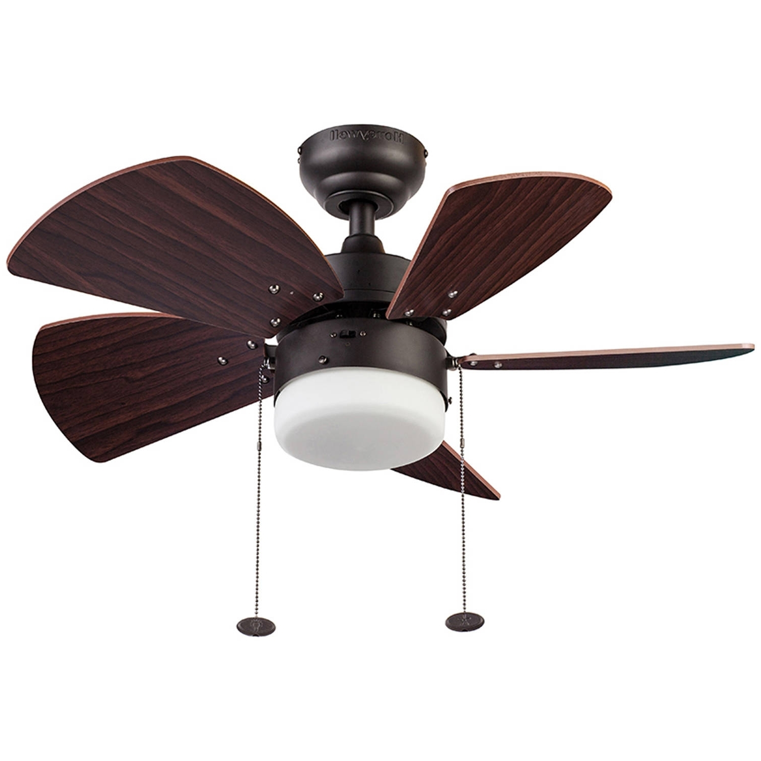 """Outdoor Ceiling Fans With Lights At Walmart Throughout Current 30"""" Honeywell Lenox Ceiling Fan, Bronze – Walmart (View 8 of 20)"""
