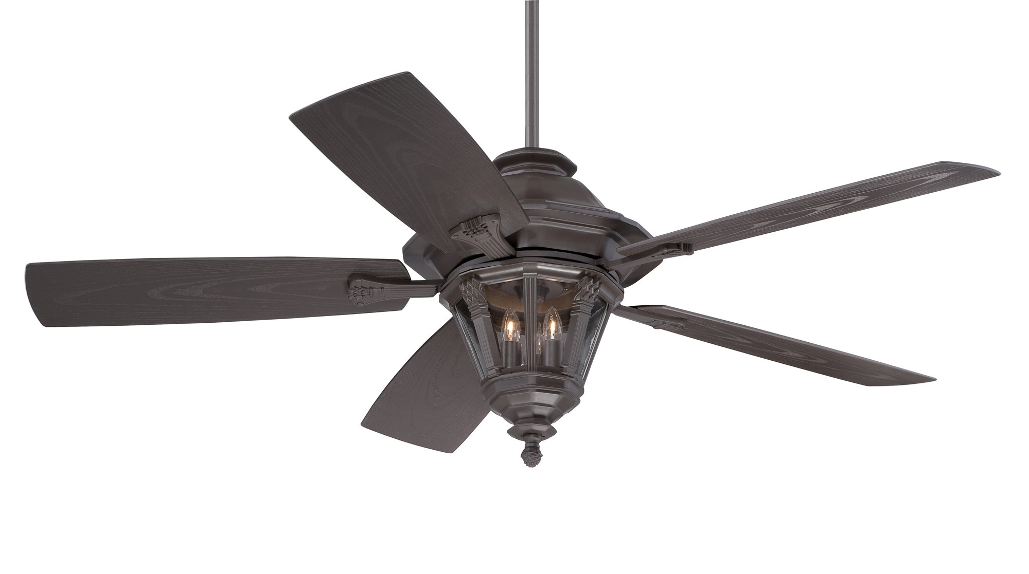 Outdoor Ceiling Fans With Wet Rated Lights Regarding Preferred Ceiling Fans : Ceiling Fan With Remote Industrial Fans Wet Location (View 12 of 20)