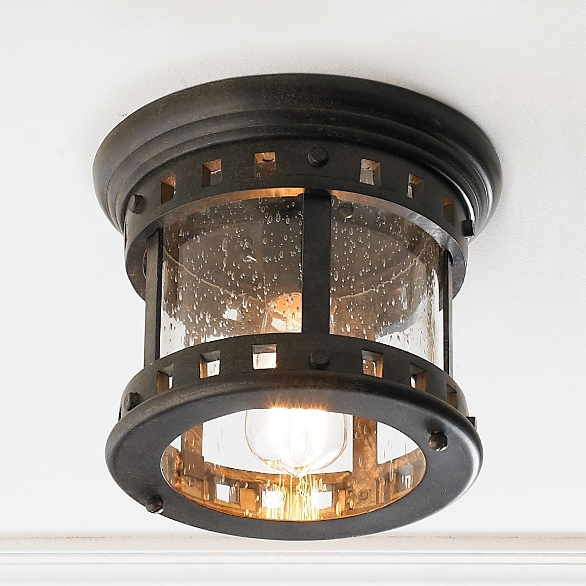 Outdoor Ceiling Intended For Well Liked Unique Outdoor Ceiling Lights (View 11 of 20)