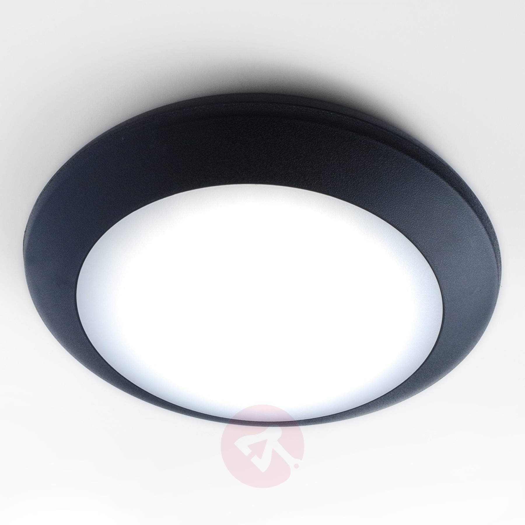 Outdoor Ceiling Led Lights For Latest Outdoor : Exterior Ceiling Mounted Led Lights Outside Lantern Lights (View 10 of 20)