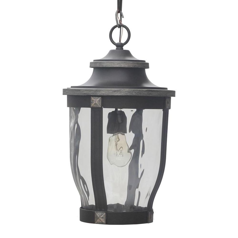 Outdoor Ceiling Lighting – Outdoor Lighting – The Home Depot Regarding 2018 Outdoor Hanging Ceiling Lights (View 11 of 20)