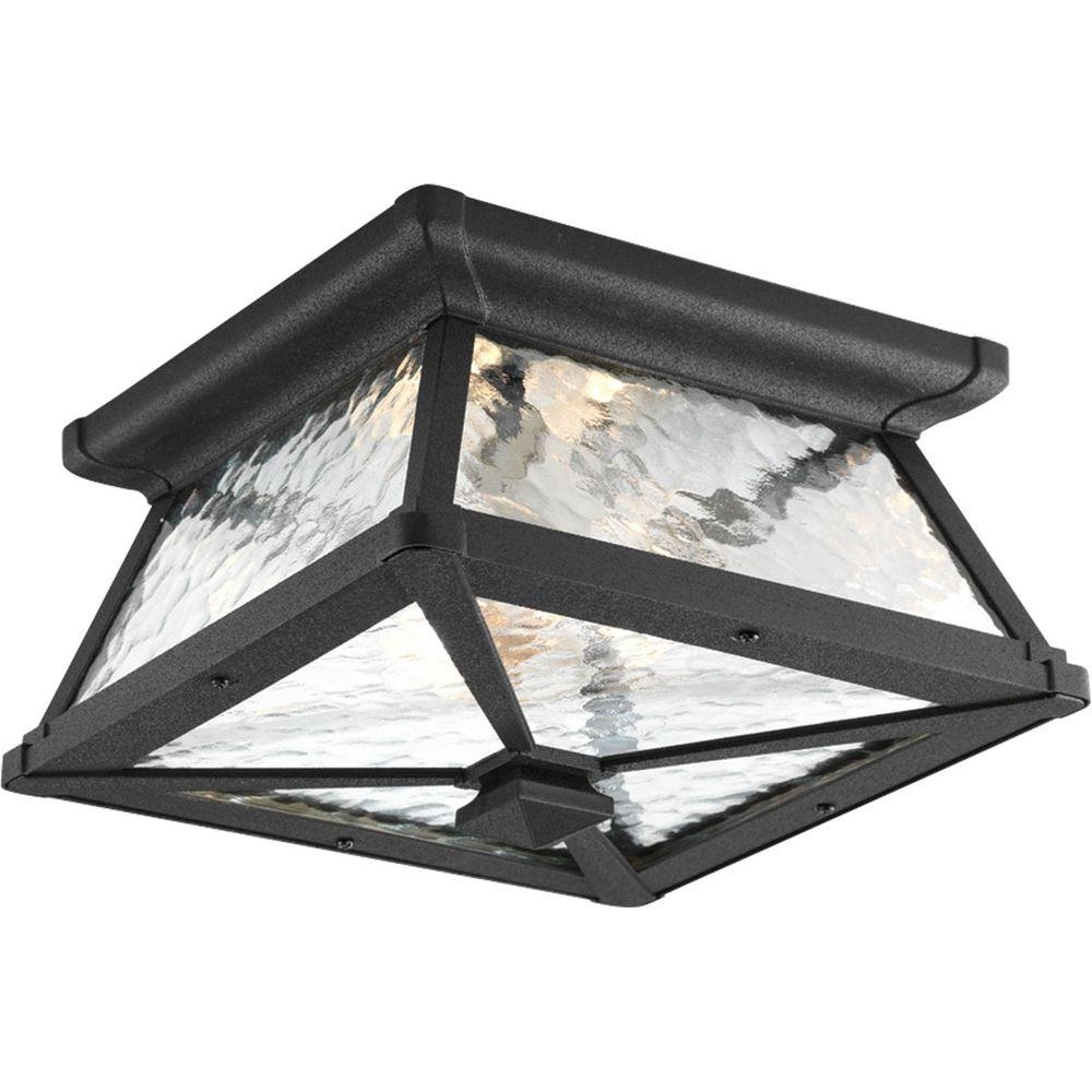 Outdoor Ceiling Lighting – Outdoor Lighting – The Home Depot With Regard To Most Up To Date Round Outdoor Ceiling Lights (View 14 of 20)
