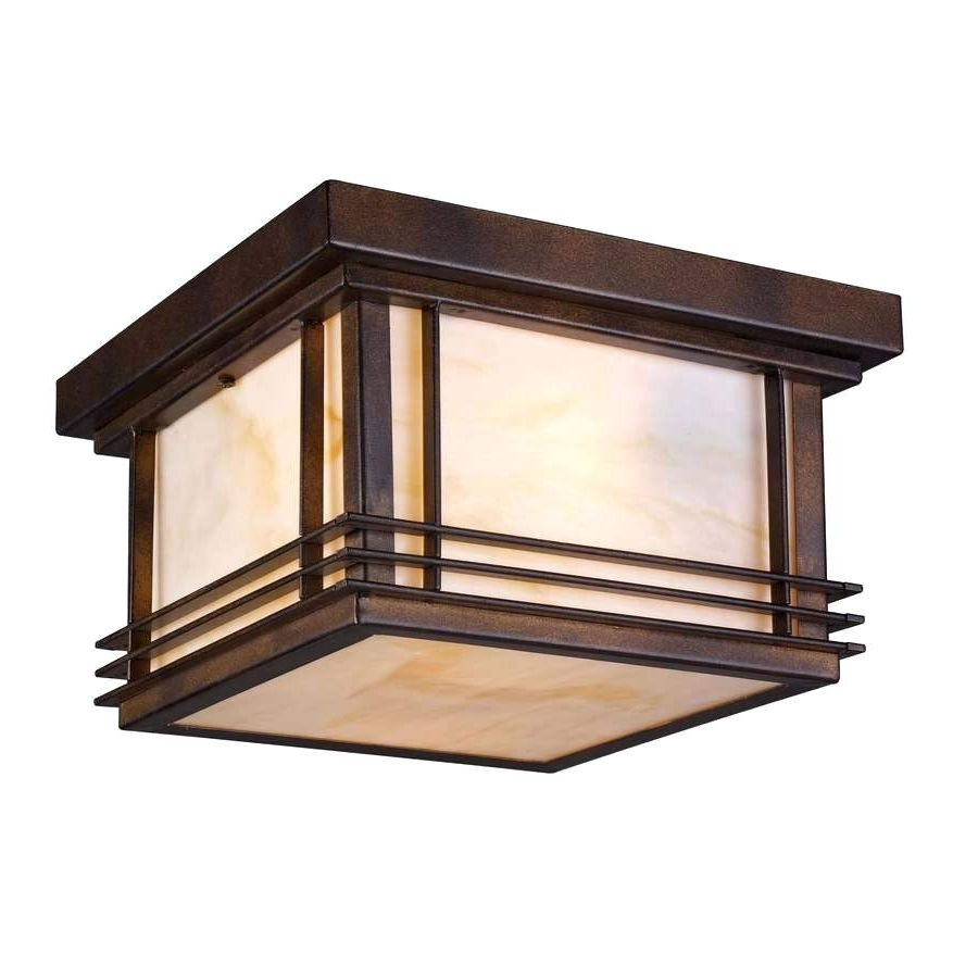 Outdoor Ceiling Lights At Amazon With 2019 Outdoor Ceiling Light Porch Fixtures Lights Amazon Lowes (View 14 of 20)