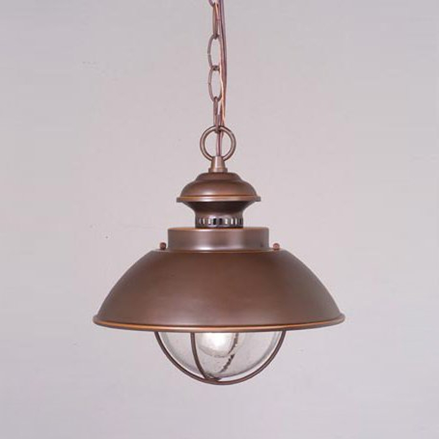 Outdoor Ceiling Lights At Lowes With Current Shop Cascadia Lighting Nautical  (View 13 of 20)