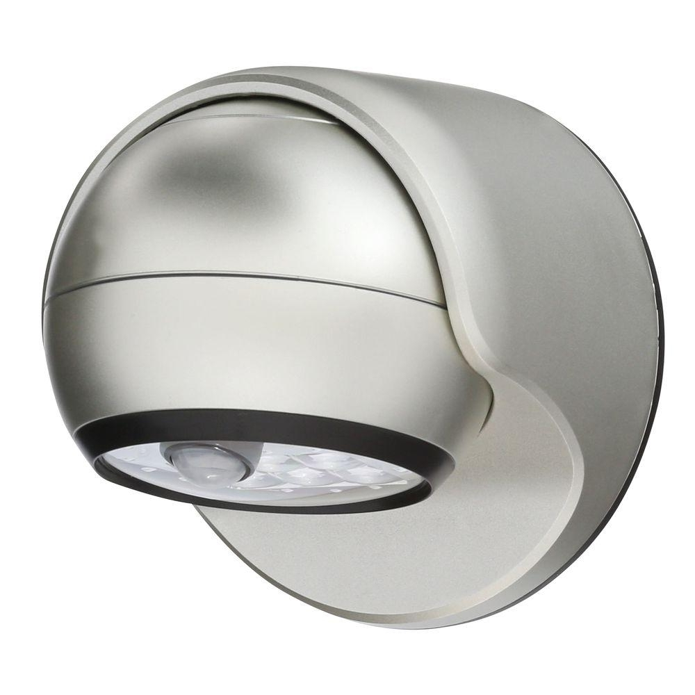 Outdoor Ceiling Lights With Sensor For Favorite Light It! White 6 Led Wireless Motion Activated Weatherproof Porch (View 9 of 20)