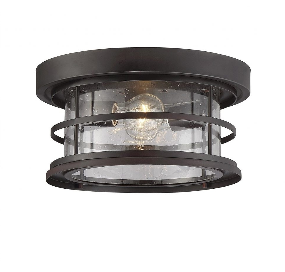 Outdoor Ceiling Mount Led Lights Regarding Recent Outdoor : Kitchen Ceiling Lights Vintage Light Fixtures Flush Mount (View 14 of 20)