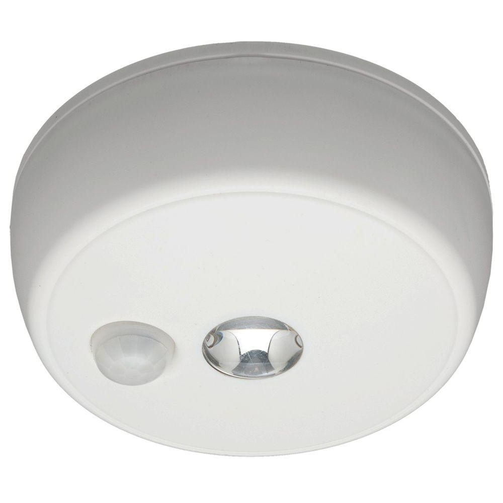 Outdoor Ceiling Sensor Lights Throughout Latest Mr Beams Wireless Motion Sensing Led Ceiling Light Mb980 – The Home (View 20 of 20)