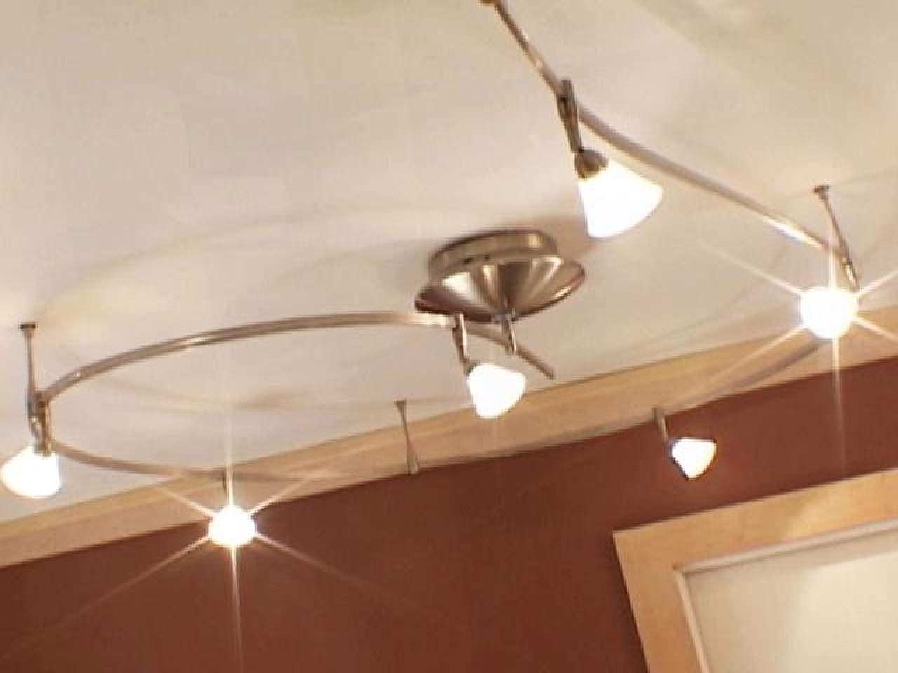 Outdoor Ceiling Track Lighting With Regard To Recent Install Track Lights For Instant Flair (View 14 of 20)