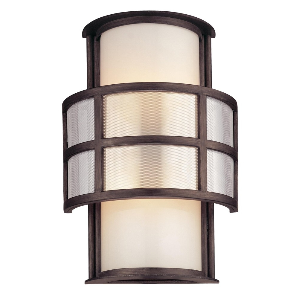 Outdoor Corner Wall Lighting With Regard To Newest Sconce : Mission Shaker Home Design Interior Lighting Battery (View 11 of 20)
