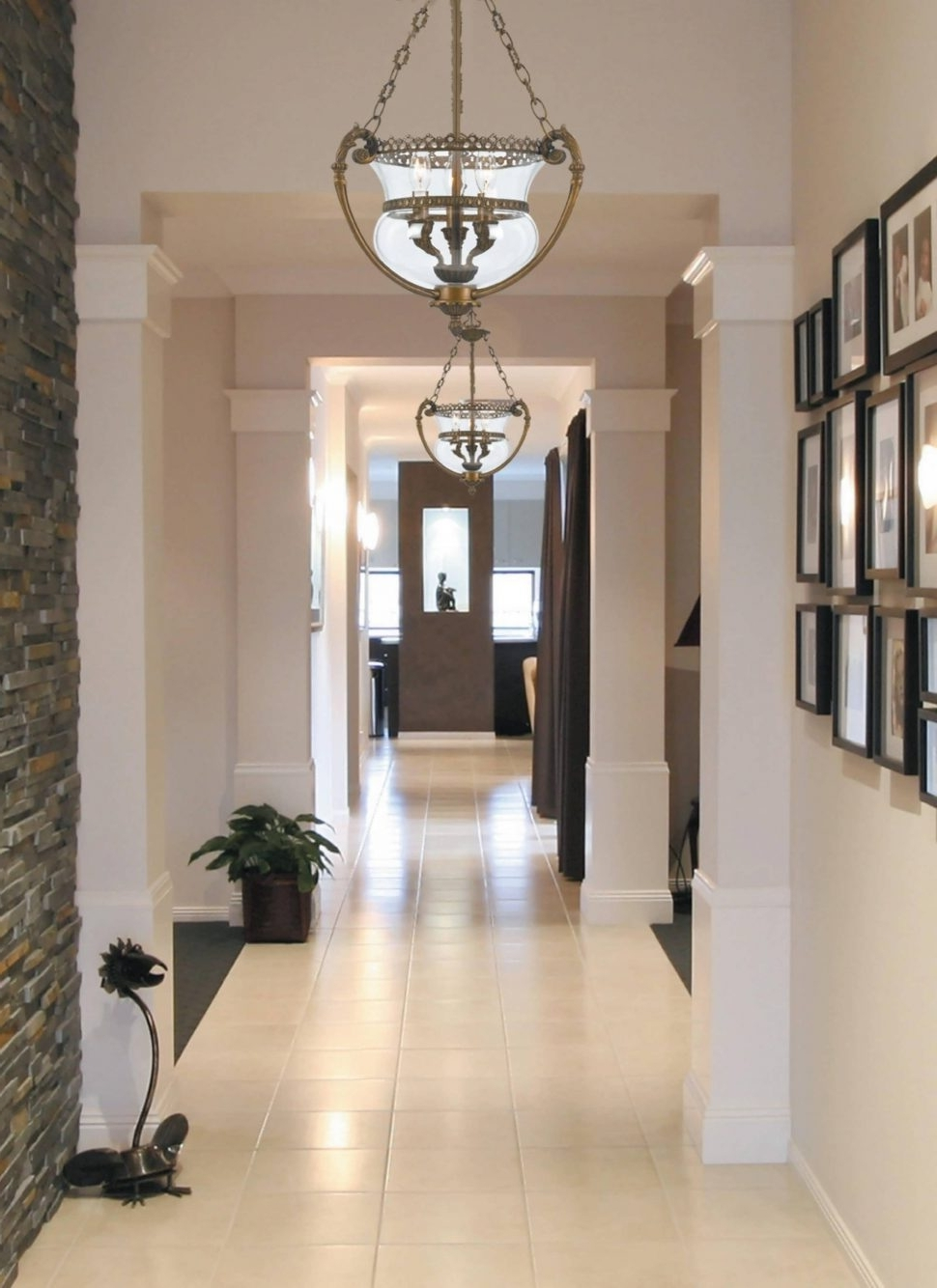 Outdoor Entrance Ceiling Lights With Trendy Light : White Chandelier Outdoor Foyer Lighting Ceiling Lights (View 10 of 20)