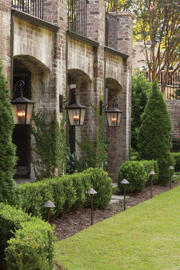 Outdoor & Exterior Lighting Fixtures For Garages, Porches, And Yards Throughout Well Known Elegant Outdoor Wall Lighting (View 17 of 20)
