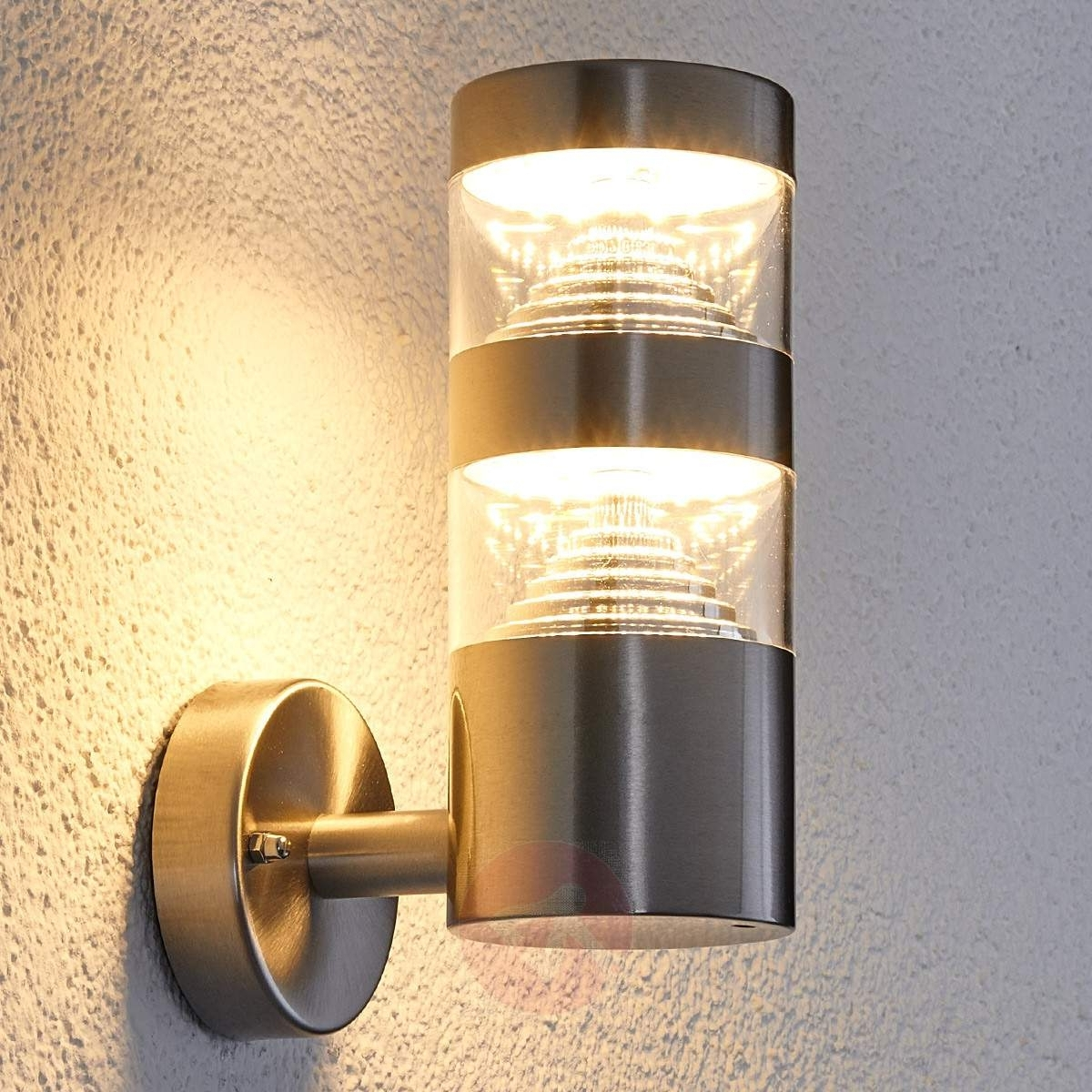 Outdoor Exterior Wall Lighting For 2019 4 : Exterior Wall Lights Inside Finest Kichler 11251Azt (View 8 of 20)