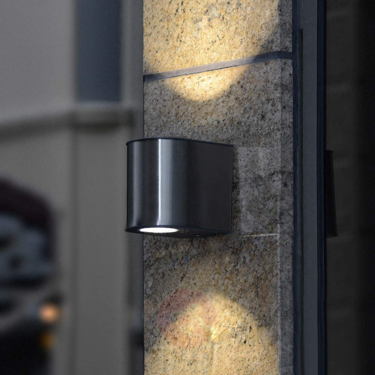 Outdoor Exterior Wall Lighting Within Latest Outdoor Lighting: Outstanding Led Exterior Wall Lights Outdoor Wall (View 16 of 20)