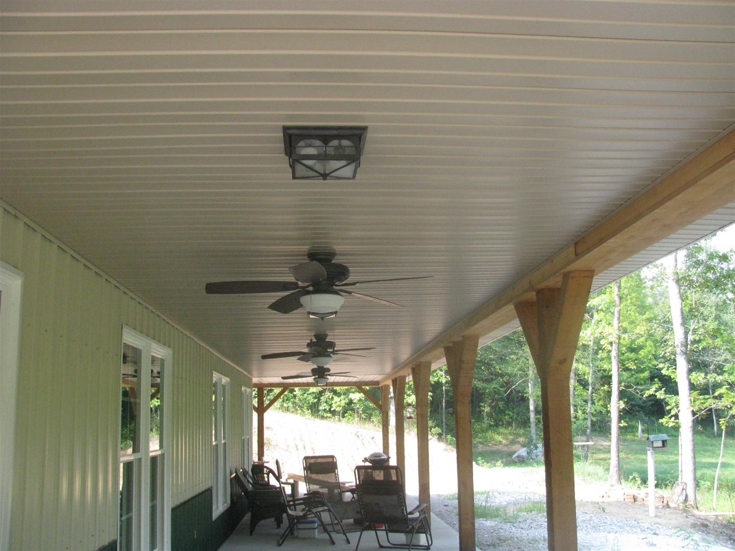 Outdoor Front Porch Ceiling Lights Within Best And Newest View