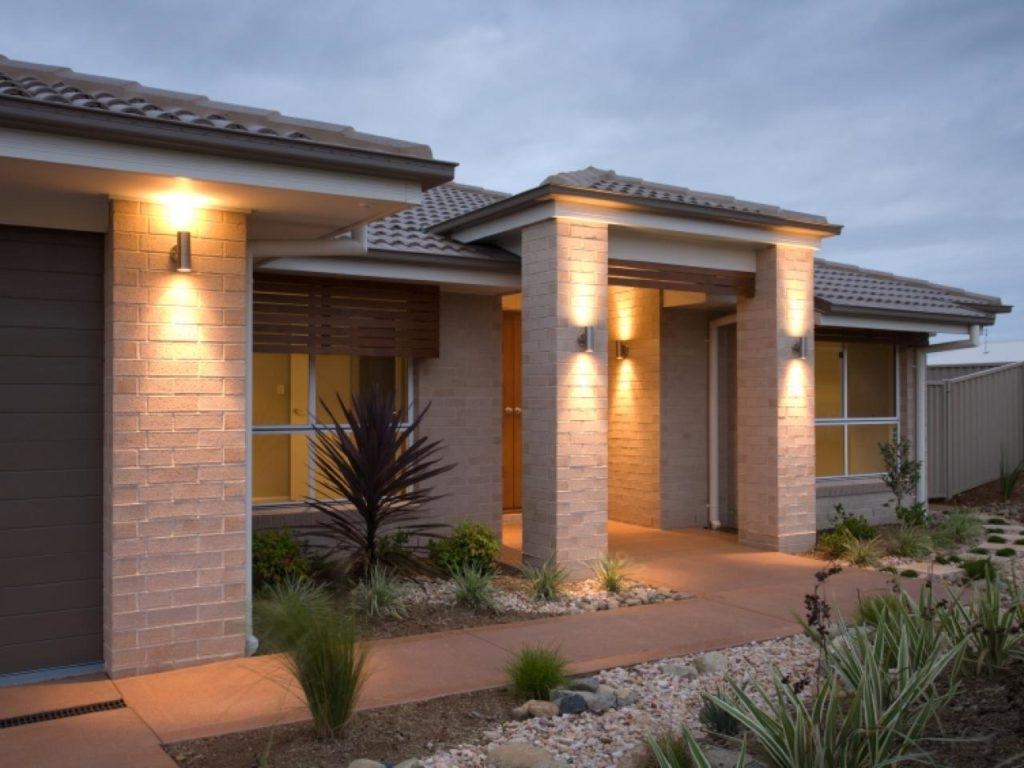 Outdoor Garage : Outdoor Patio Lights Outdoor Sconces Garden Lights Throughout Popular Garden Outdoor Wall Lights (View 17 of 20)