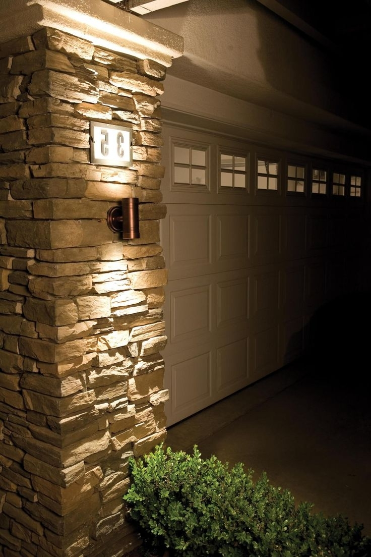 Outdoor Garage : Outside Wall Lights Outdoor Wall Sconce Outdoor Intended For Widely Used Sconce Outdoor Wall Lighting (View 20 of 20)