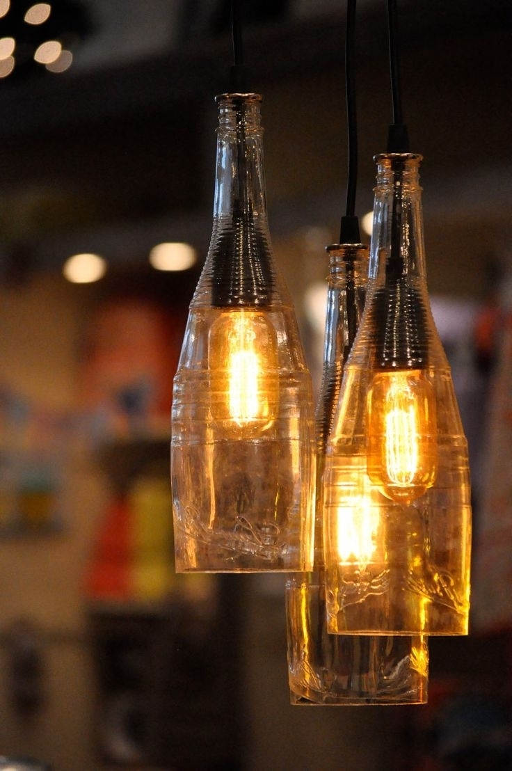 Featured Photo of Outdoor Hanging Bottle Lights