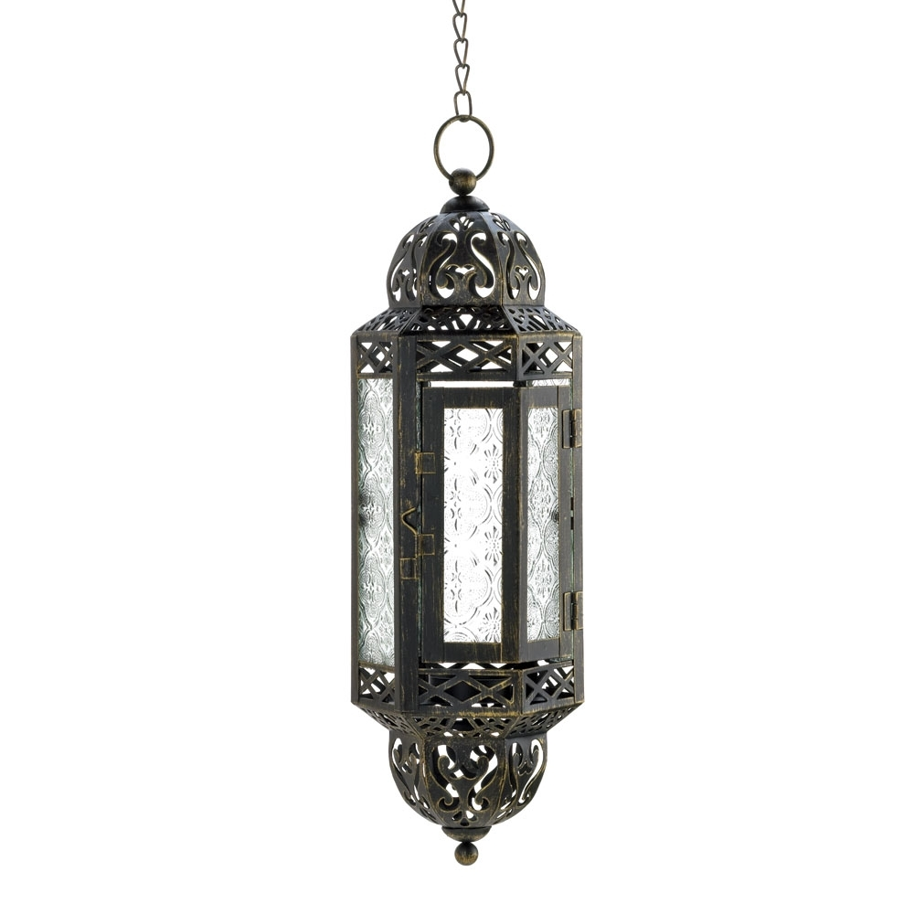 Outdoor Hanging Candle Lanterns At Wholesale Inside Most Popular Hanging Victorian Candle Lantern Wholesale At Eastwind Wholesale (View 12 of 20)