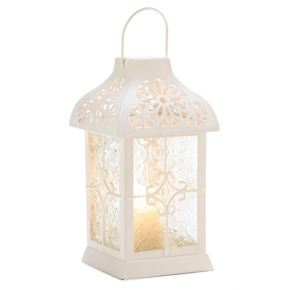 Outdoor Hanging Decorative Lanterns Inside Newest Floor Lanterns, Daisy Gazebo Metal Decorative Patio Rustic Outdoor (View 18 of 20)