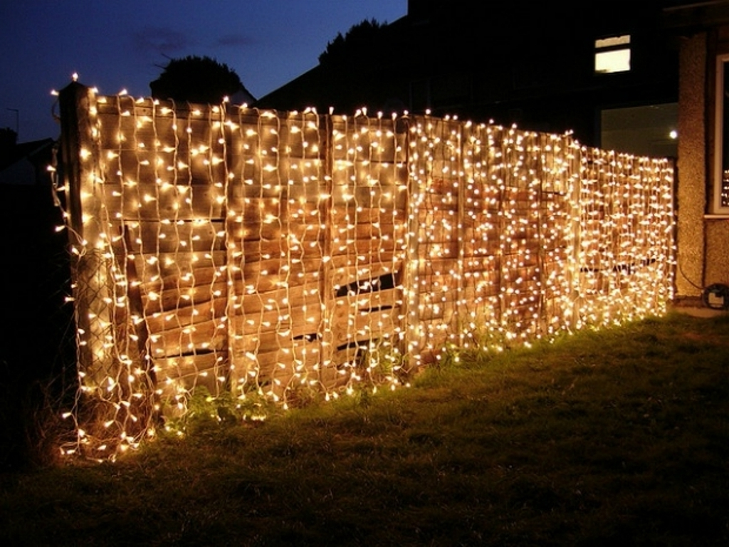 Outdoor Hanging Fairy Lights Pertaining To Well Known Fabulous Fairy Lights For Impressive Garden Decorating Ideas With (View 8 of 20)