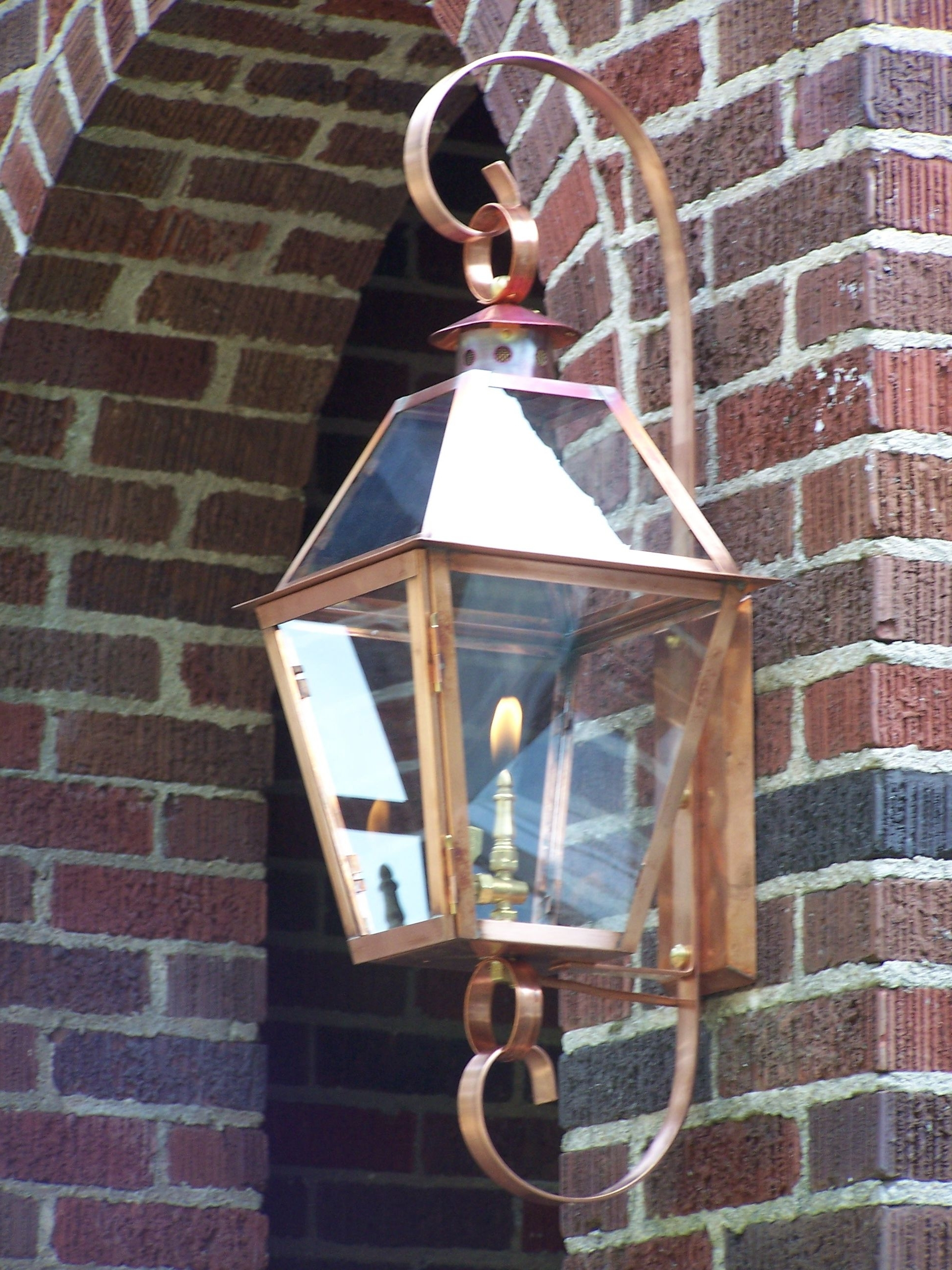 Outdoor Hanging Gas Lanterns With Most Current A Gas Lantern… Like Eye Candy For Your House! (Gallery 8 of 20)