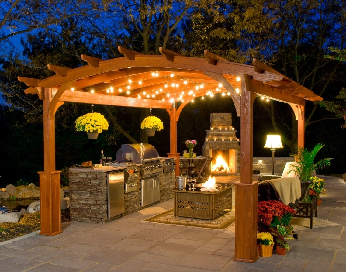 Outdoor Hanging Gazebo Lights With Best And Newest Outdoor Hanging Lights For Gazebos • Outdoor Lighting (View 15 of 20)