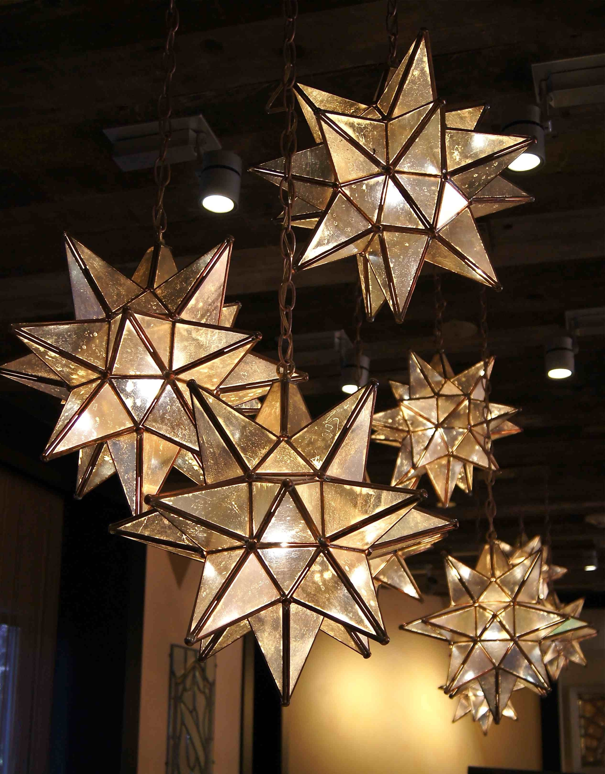 Outdoor Hanging Globe Lanterns With Regard To Most Popular Love These!!! Moravian Star Pendants Are Here For The Beautification (View 20 of 20)