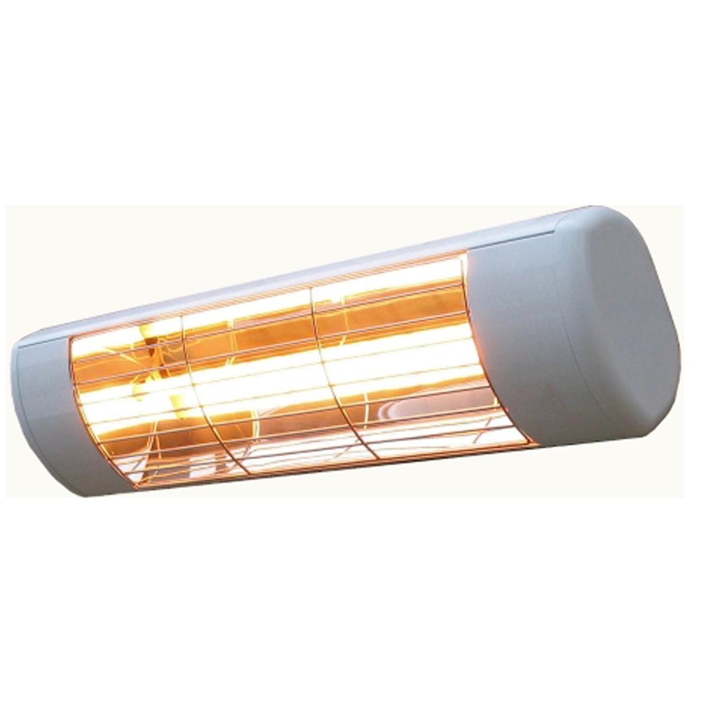 Outdoor Hanging Heat Lamps Regarding Newest Sunheat 1500 Watt 120 Volt Outdoor Weatherproof Electric Wall (View 13 of 20)