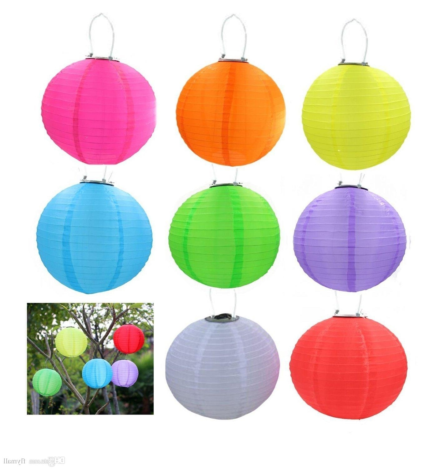 Outdoor Hanging Lamps Online With Most Recent Best Solar Lantern Light Chinese Lantern Led Solar Lamp Christmas (View 14 of 20)