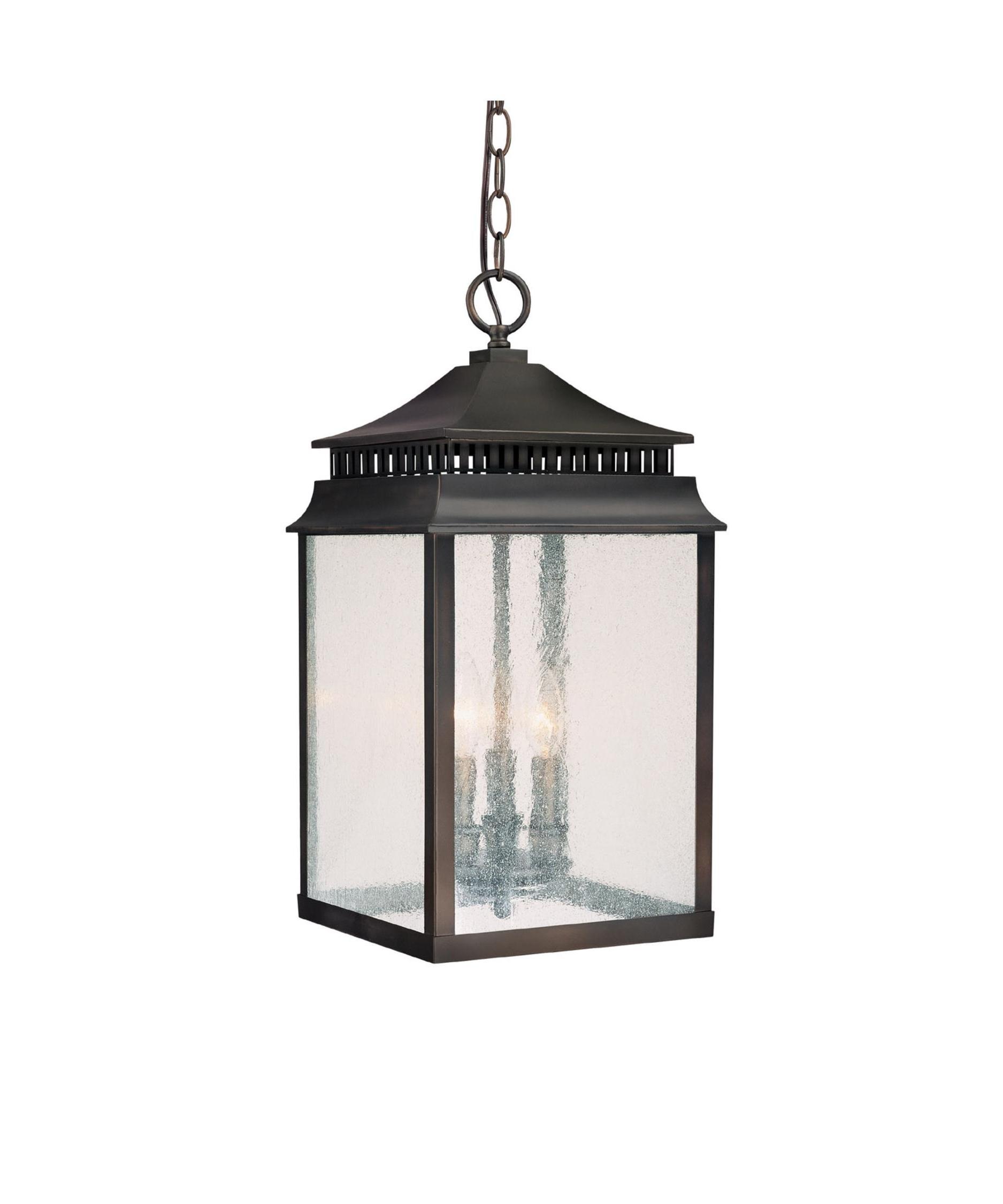 Outdoor Hanging Lantern Lights In Most Recent Capital Lighting 9116 Sutter Creek 10 Inch Wide 3 Light Outdoor (View 8 of 20)