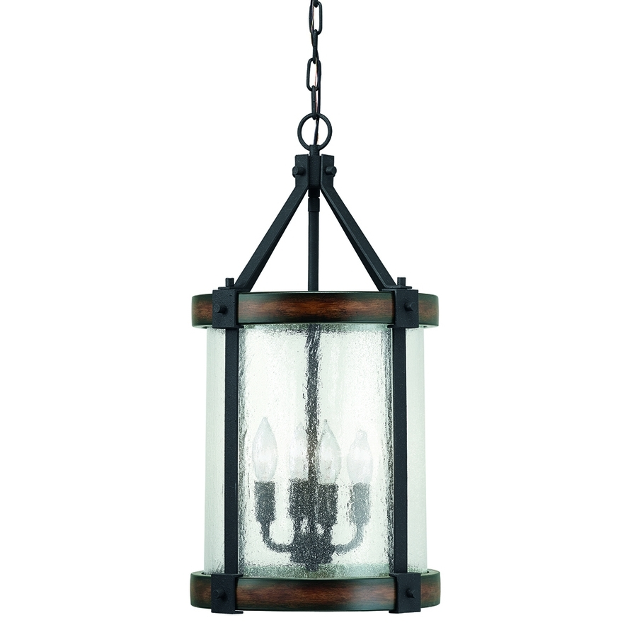 Outdoor Hanging Lanterns At Lowes For Preferred Shop Pendant Lighting At Lowes (View 6 of 20)