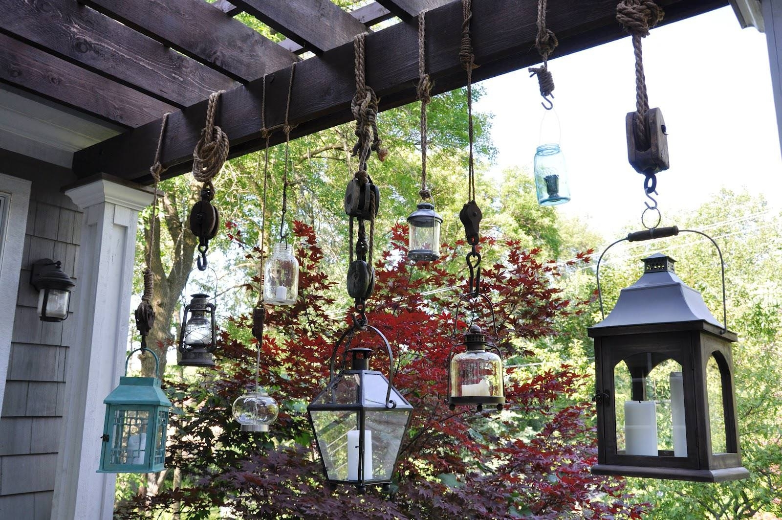 Outdoor Hanging Lanterns For Candles Inside Popular Emejing Hanging Lanterns Indoor Gallery – Decoration Design Ideas (View 11 of 20)