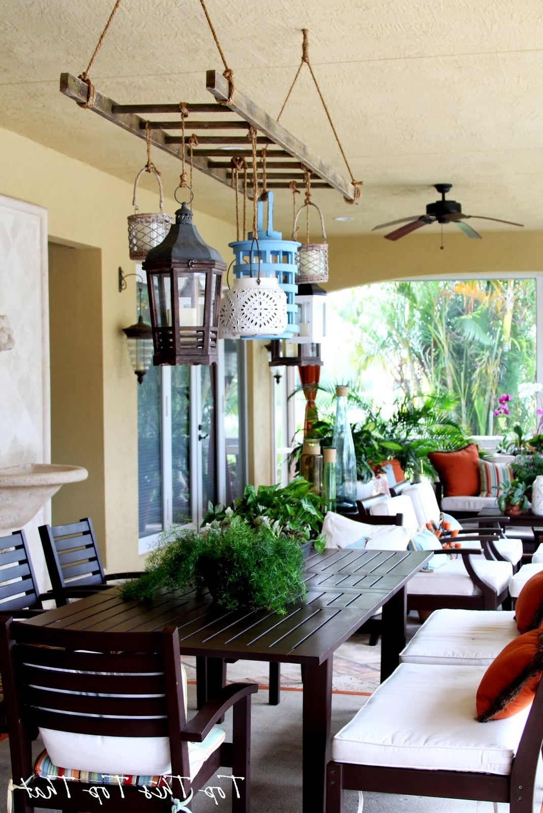 Outdoor Hanging Lanterns For Patio Decorate Ideas Simple At Lantern Within Widely Used Outdoor Hanging Lights For Patio (View 11 of 20)