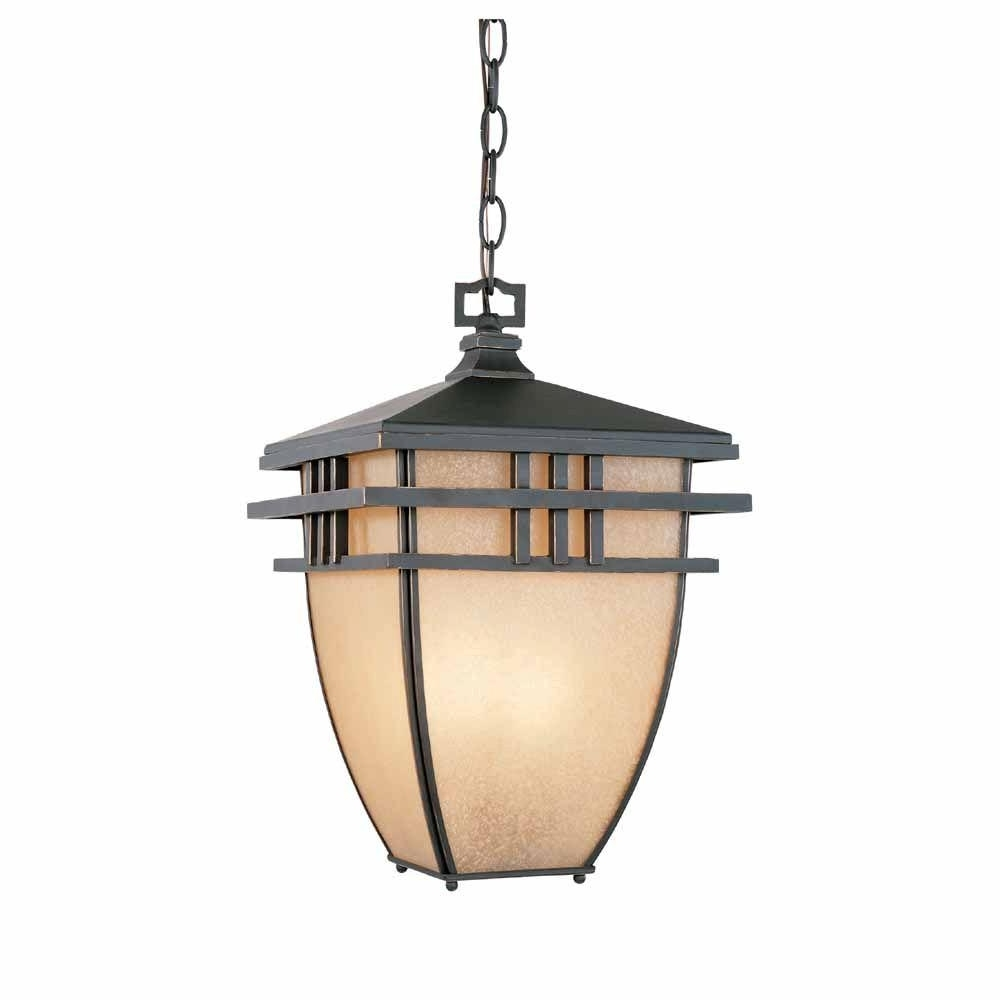 Outdoor Hanging Lighting Fixtures At Home Depot With Regard To Most Recent World Imports 10.75 In (View 16 of 20)