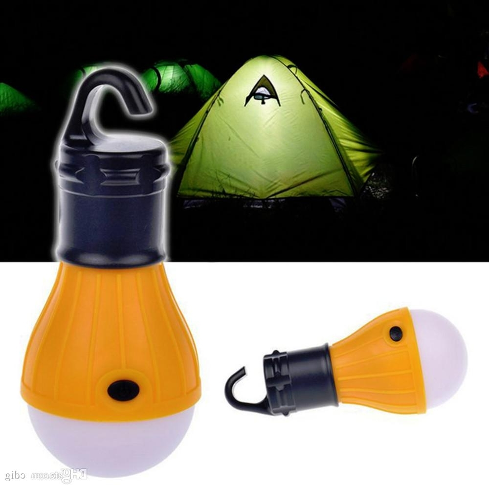 Outdoor Hanging Lights For Campers With Most Recently Released 8Mm Led X3 Soft Light Outdoor Hanging Led Camping Tent Light Bulb (View 10 of 20)