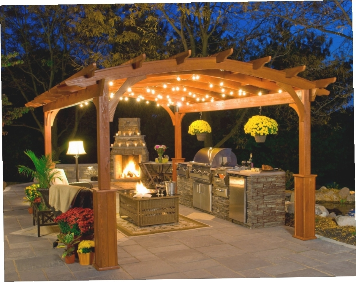 Outdoor Hanging Lights For Gazebos • Outdoor Lighting Inside Recent Outdoor Hanging Lights For Gazebos (View 14 of 20)