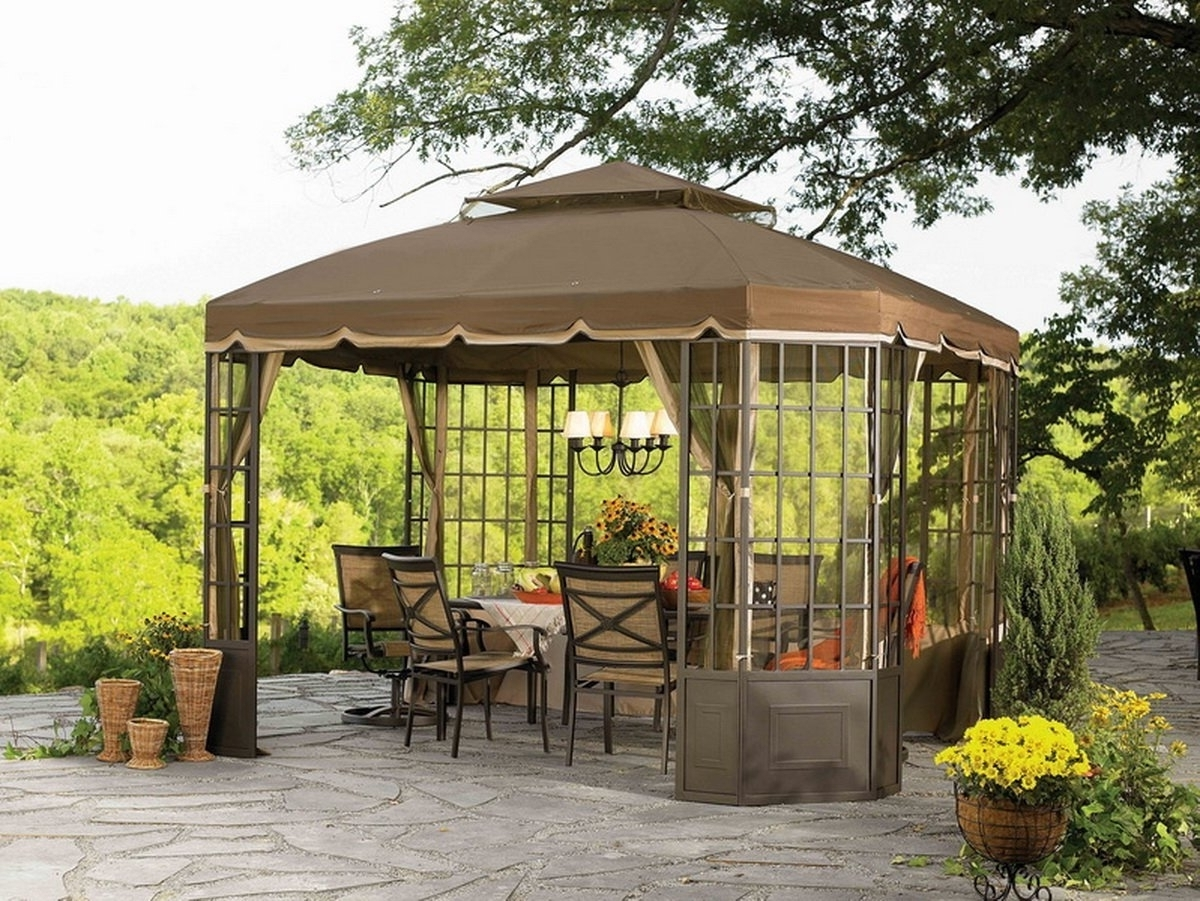 Outdoor Hanging Lights For Gazebos Pertaining To Most Recently Released Outdoor Hanging Lights For Gazebos – Outdoor Designs (View 15 of 20)