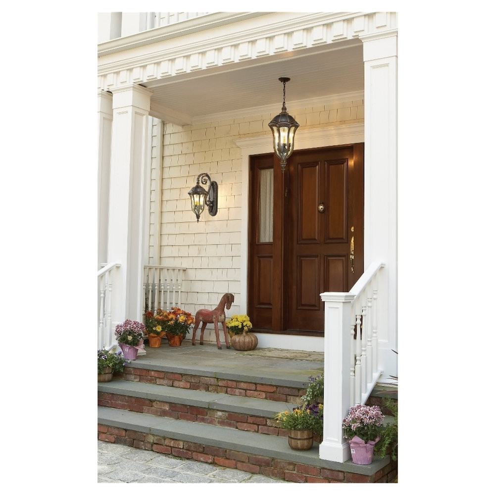 Outdoor Hanging Lights Front Door • Outdoor Lighting Intended For Most Recently Released Hanging Outdoor Lights On House (View 4 of 20)