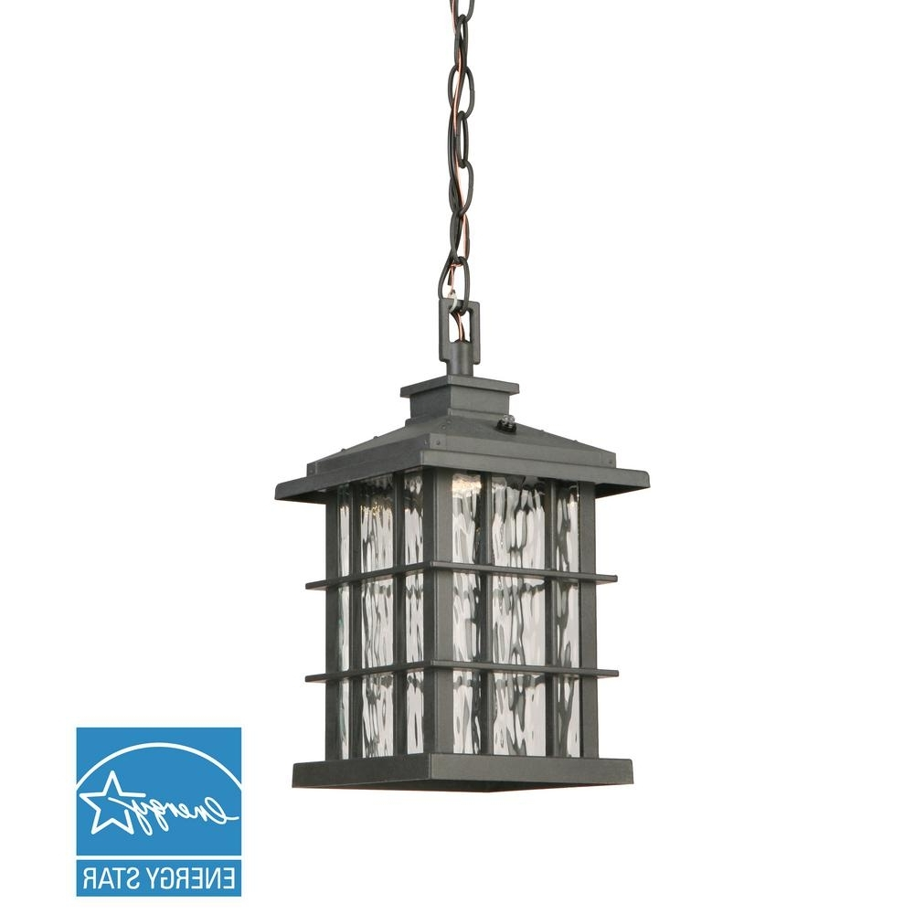 Outdoor Hanging Lights – Outdoor Ceiling Lighting – The Home Depot For Well Known Outdoor Hanging Lights At Home Depot (View 7 of 20)