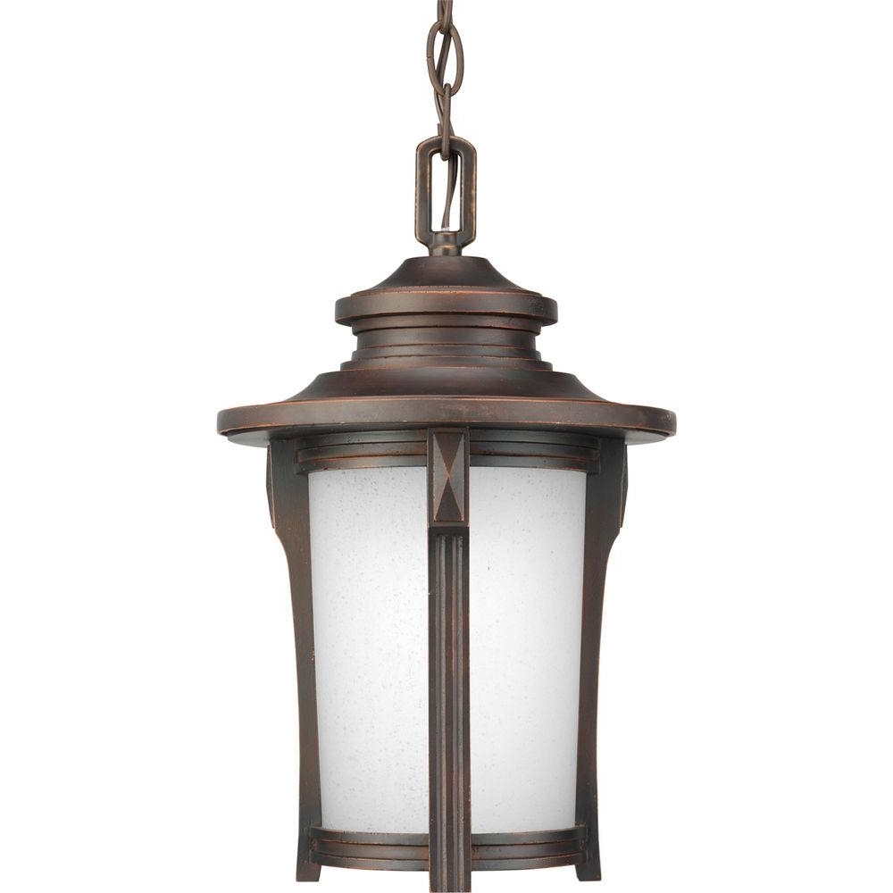 Outdoor Hanging Lights – Outdoor Ceiling Lighting – The Home Depot Within Favorite Outdoor Hanging Lamps (View 19 of 20)
