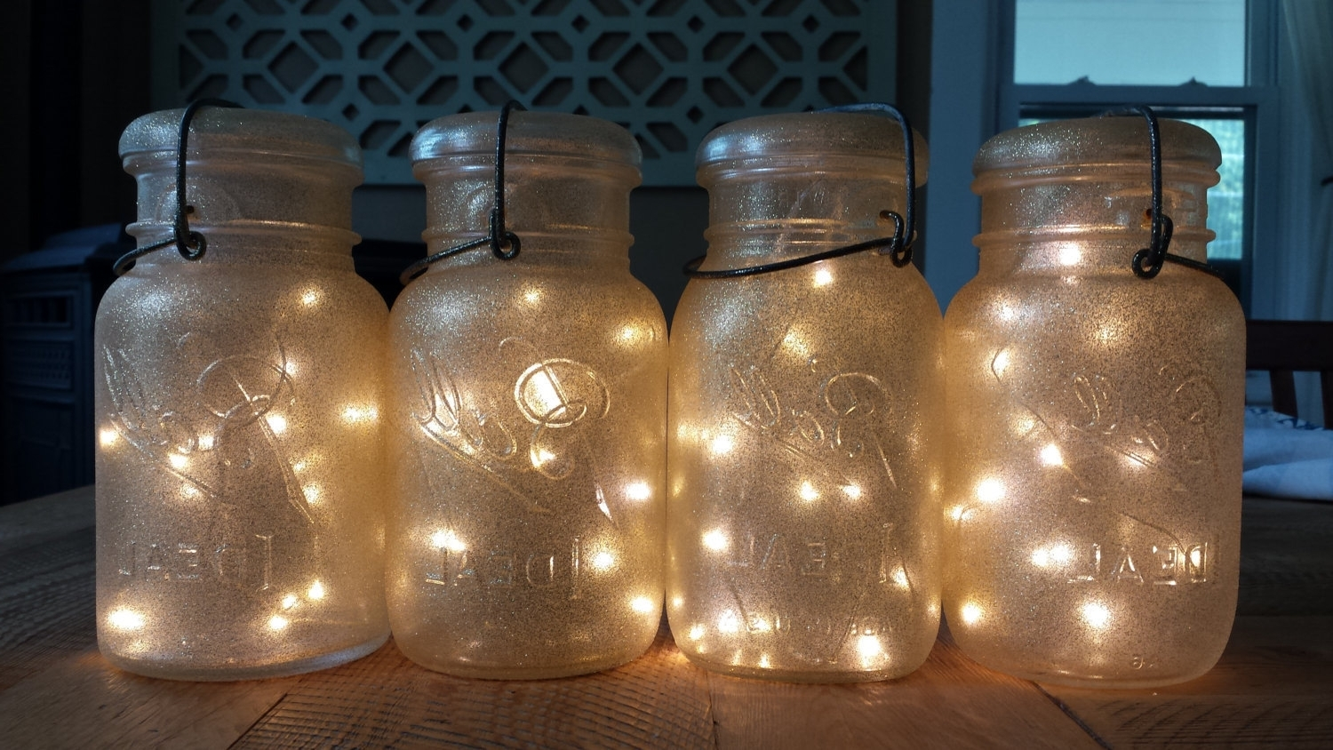 Outdoor Hanging Mason Jar Lights Inside Preferred Outdoor Lighting Makeovers Hanging Battery Operated Lights Il (View 13 of 20)