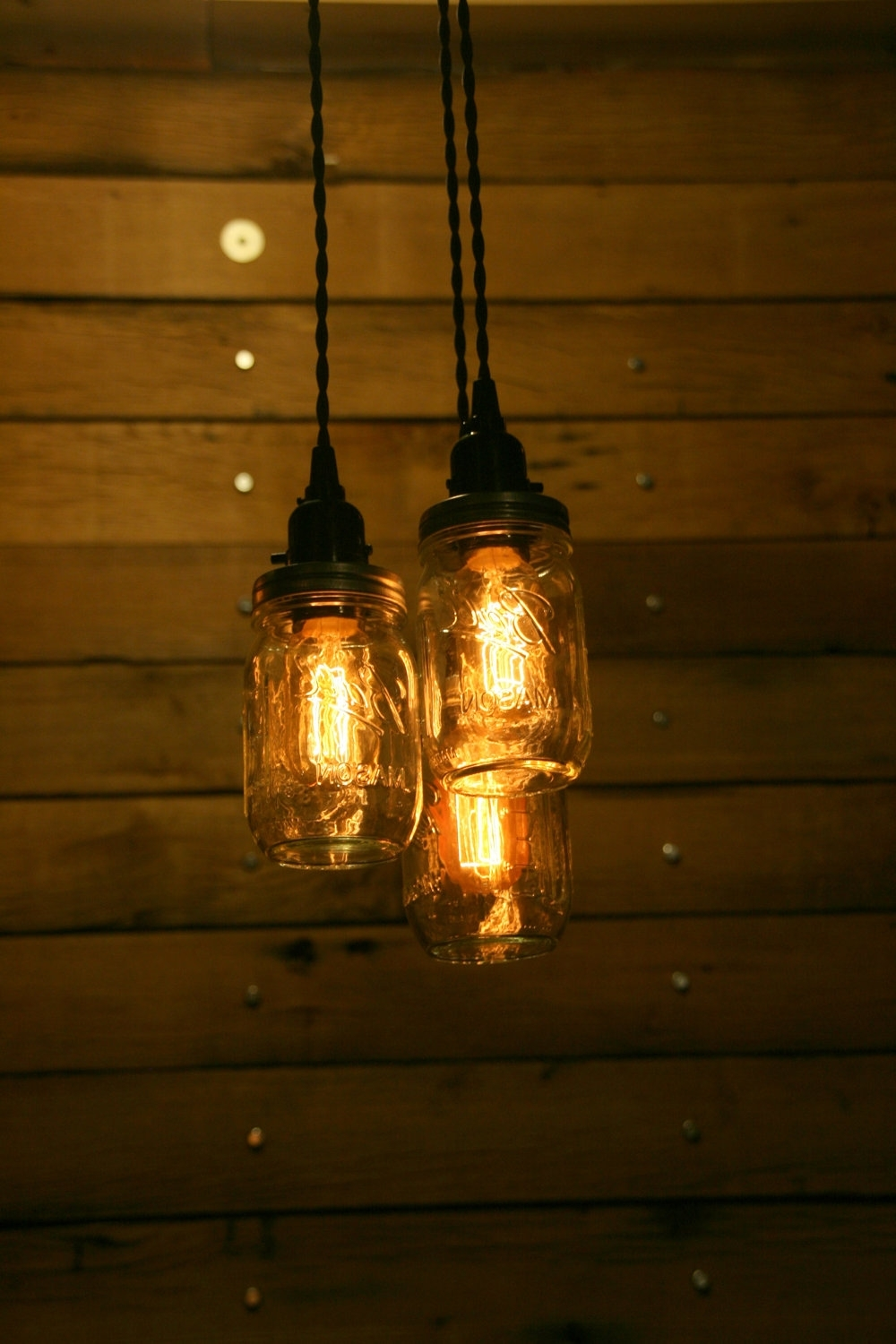 Outdoor Hanging Mason Jar Lights Inside Trendy Engaging Hanging Mason Jar Solar Lights Bell Jam Lighting Kits Ball (View 14 of 20)
