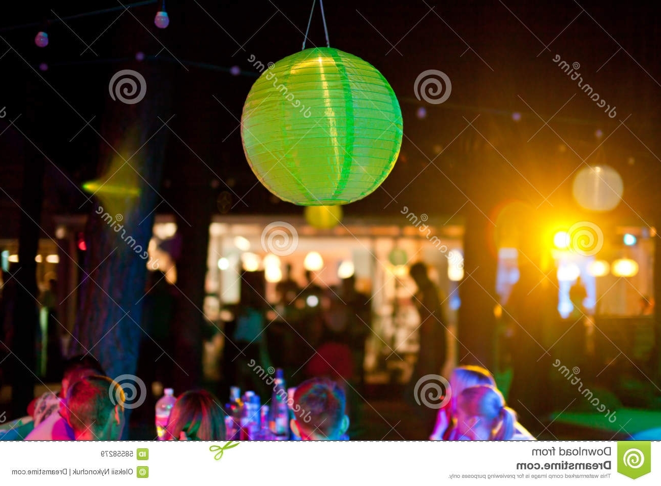 Outdoor Hanging Paper Lantern Lights Within Well Known Decoration : Outdoor Paper Lantern Round Paper Lanterns' Chinese (View 7 of 20)
