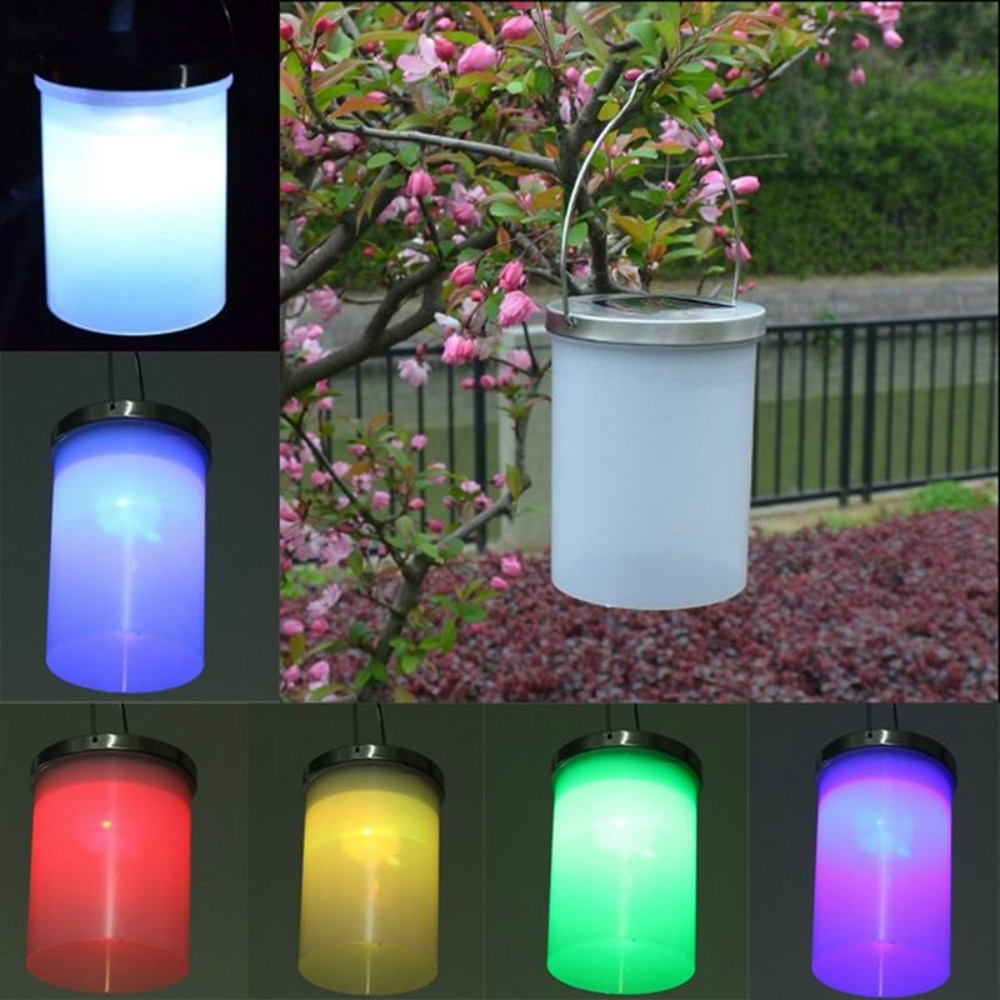 Outdoor Hanging Plastic Lanterns Pertaining To Popular U Easy 3Pcs/ Set Led Solar Light Portable Hanging Lantern Outdoor (View 12 of 20)