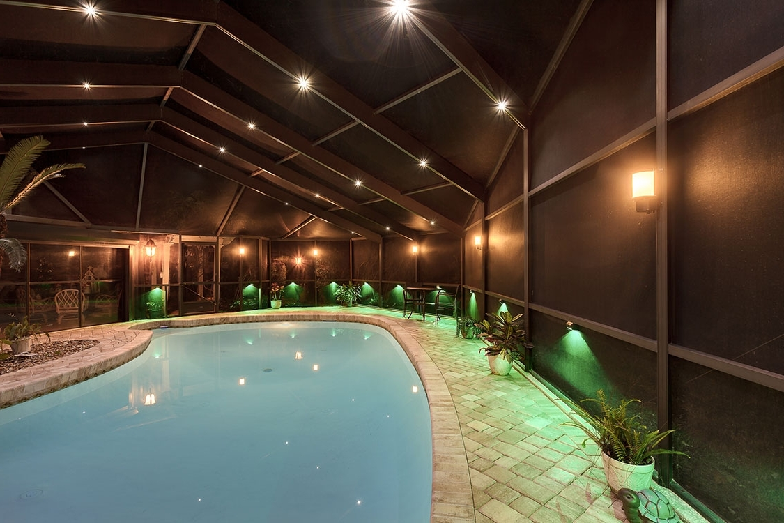 Outdoor Hanging Pool Lights Intended For Current Nebula Lighting Systems – Rail Light System (View 10 of 20)
