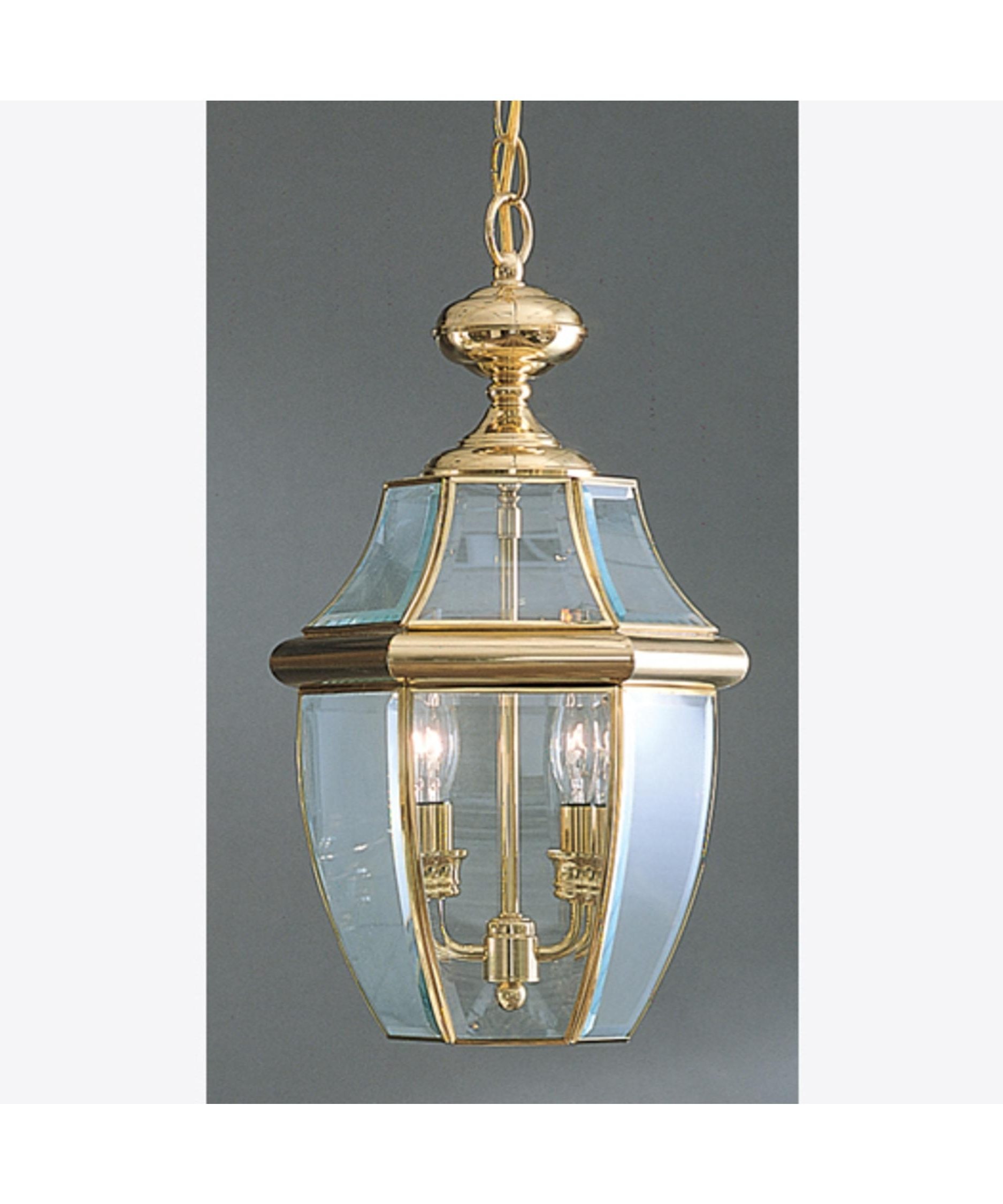 Outdoor Hanging Porch Lights Throughout 2019 Quoizel Ny1178 Newbury 10 Inch Wide 2 Light Outdoor Hanging Lantern (View 20 of 20)